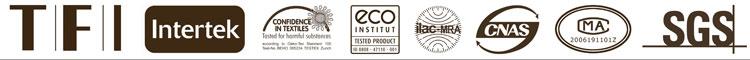 all cert logo Our Factory